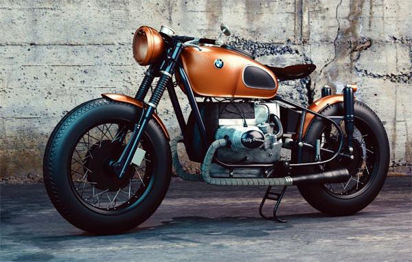 Umzug Motorrad