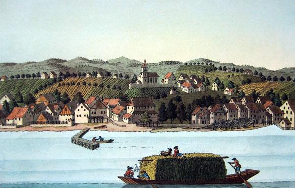 Kupferstich von Heinrich Bruppacher
