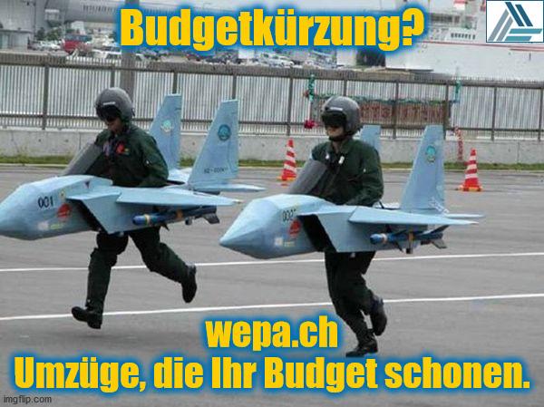 Sparmassnahmen bei der Flugwaffe