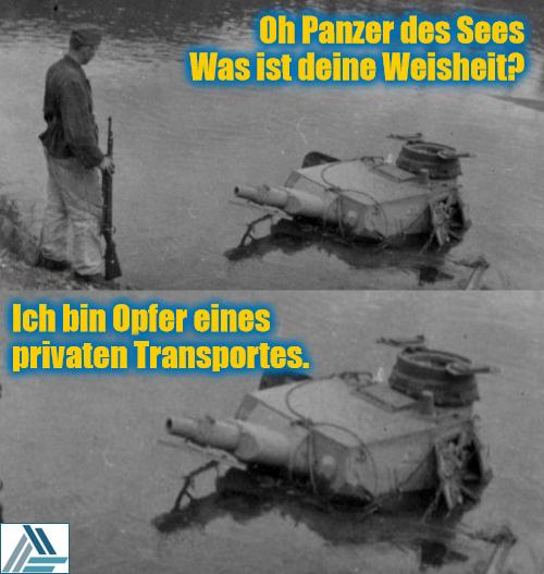 Panzer des Sees