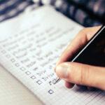 Nähkästchen - Umzug Checkliste